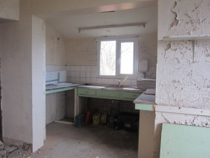 Old Kitchen as it is before renovations